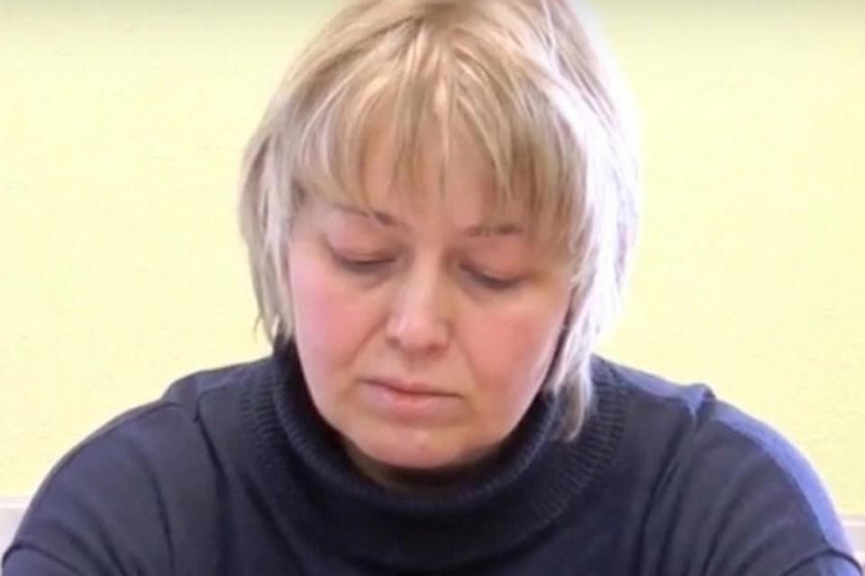 Ирина Щербакова на оглашении приговора. Фото: vesti.ru
