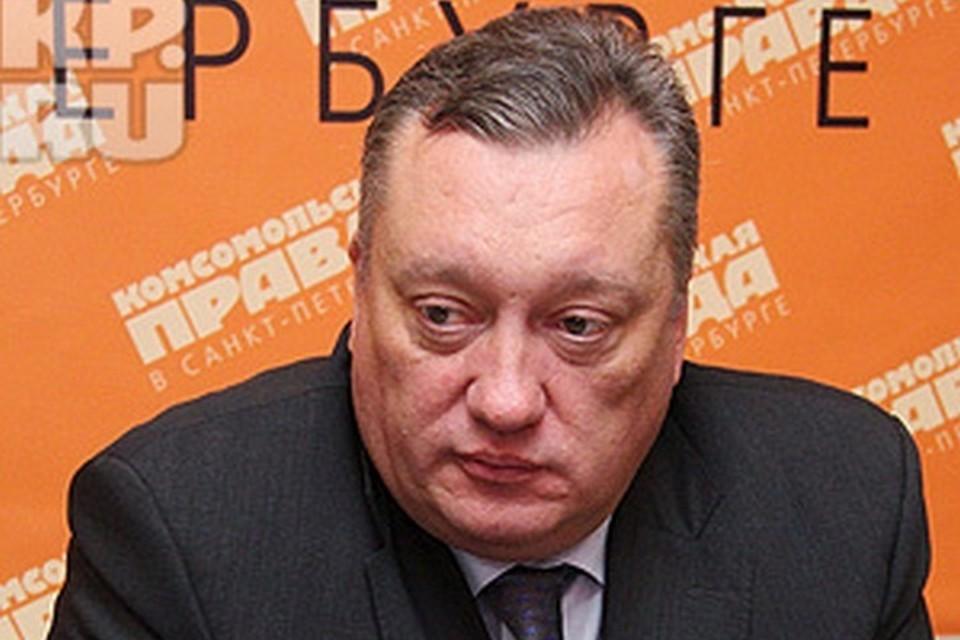 Вадим Тюльпанов долгое время был спикером Законодательного Собрания.