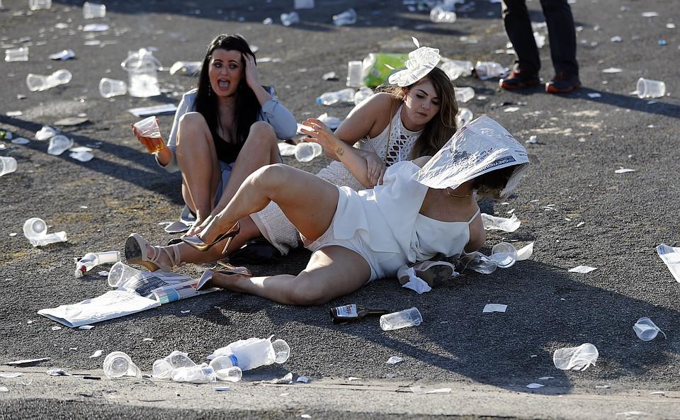 В английском городке Эйнтри прошел традиционный ежегодный День леди.
