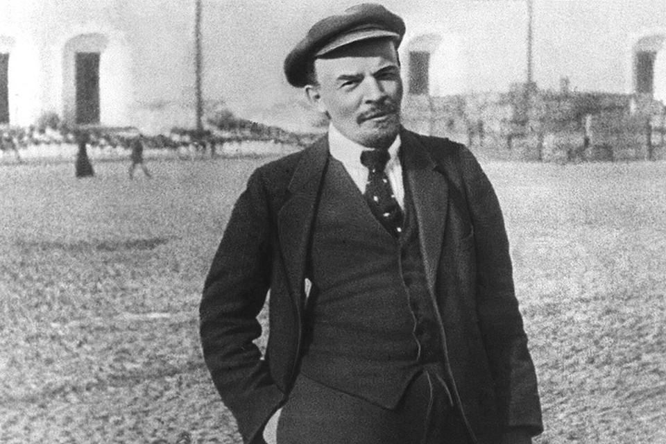 Владимир Ульянов-Ленин в 1918 году. ФОТО ИТАР-ТАСС