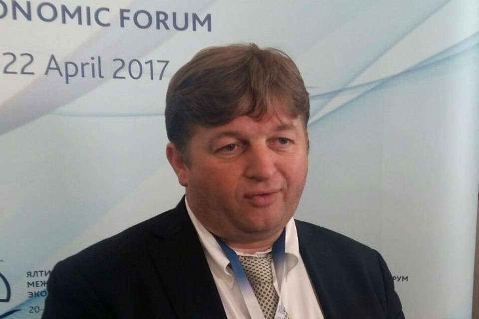 Стефано Вальдегамбери привез в Крым инвесторов.
