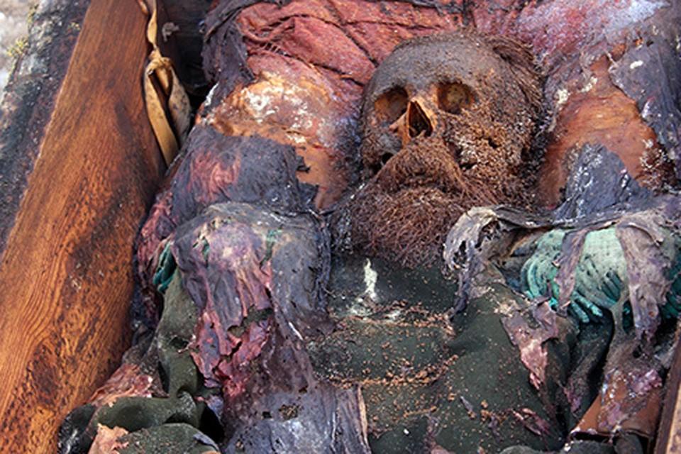 Предположительно, захоронение было сделано порядка 150 лет назад. ФОТО hurriyetdailynews.com