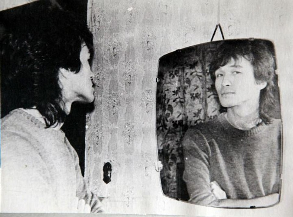 Виктор Цой. Фото из семейного архива.