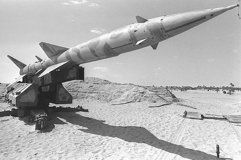 1967 год, ракета SAM-2 Армии обороны Израиля.