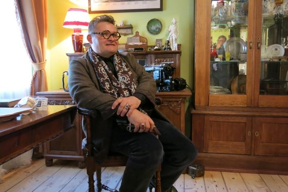 В Калининграде историк моды заглянул в музей-квартиру Altes Haus на улице Красная