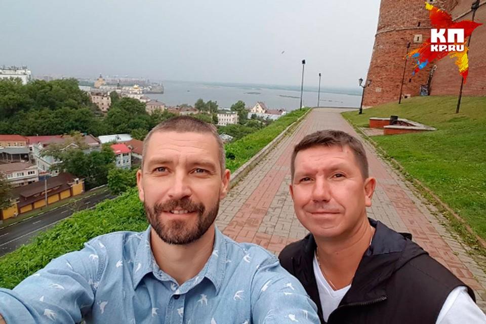 Братья Кристовские приехали в Нижний на День города. Фото: Инстаграм Владимира Кристовского