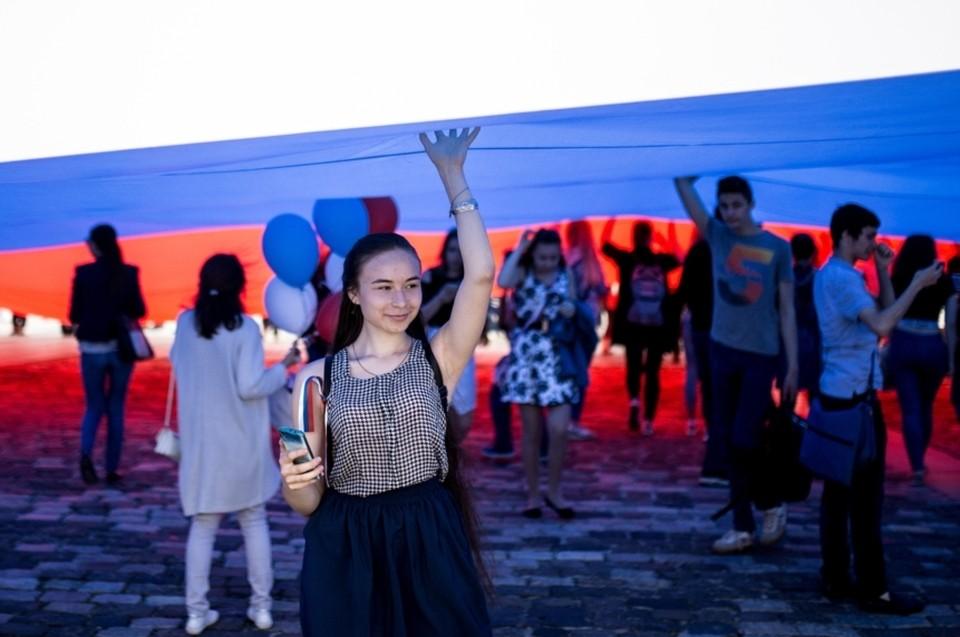 В Москве проходит празднование Дня России. Фото: Сергей Бобылев/ТАСС