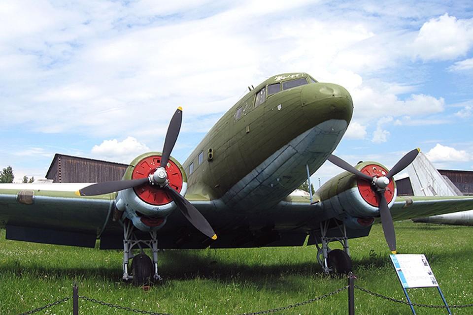 Старый военный самолет в музее ВВС в Монино. Фото предоставлено Туту.ру