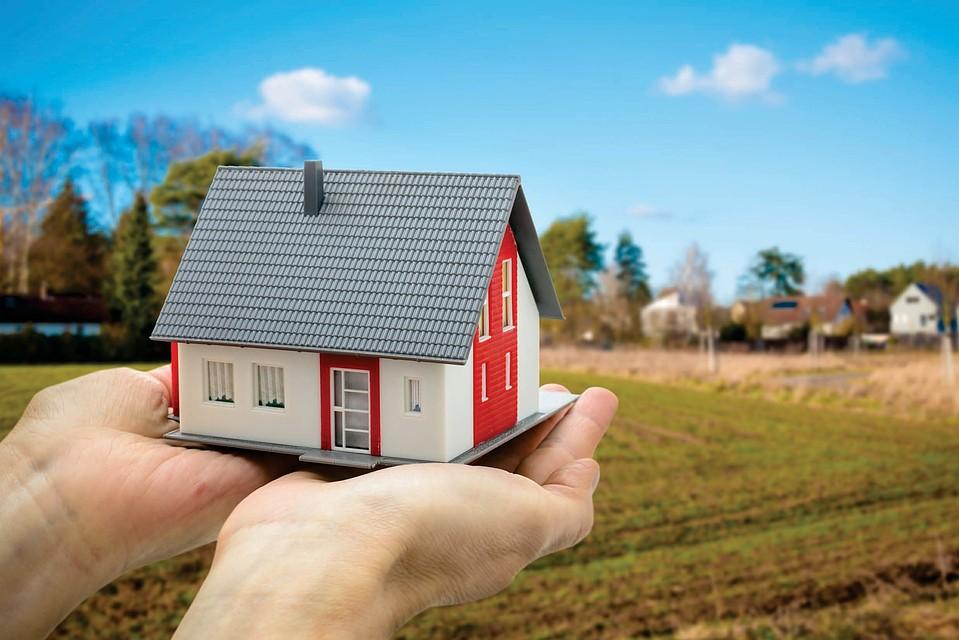 взять участок под строительство дома