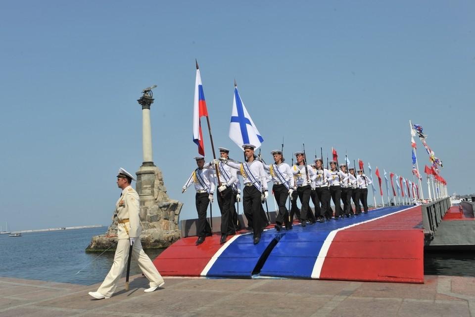 В Севастополе День ВМФ всегда отмечают с особым размахом.