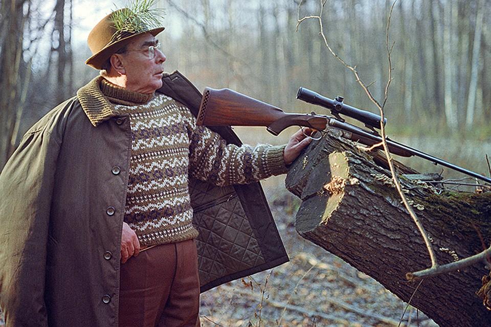Леонид Брежнев был большим поклонником оружия