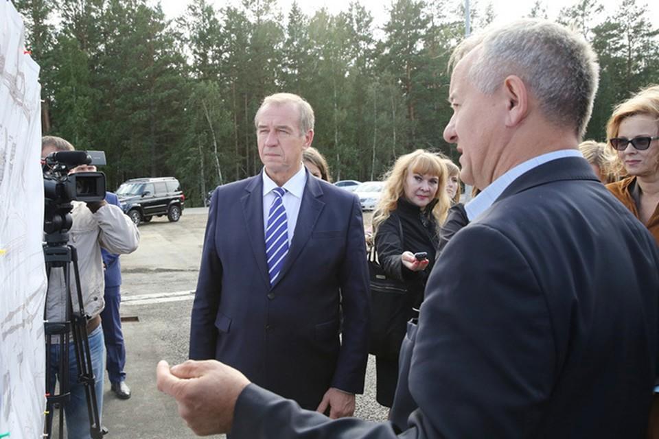Сергей Левченко: К работам на следующем участке планируем приступить в следующем году.