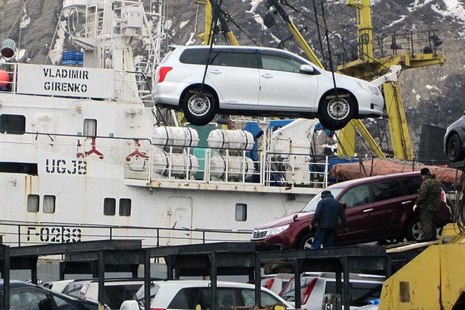 Грузооборот Японии с Сахалином на данный момент обеспечивается морским транспортом. Фото ИТАР-ТАСС/ Александр Семенов