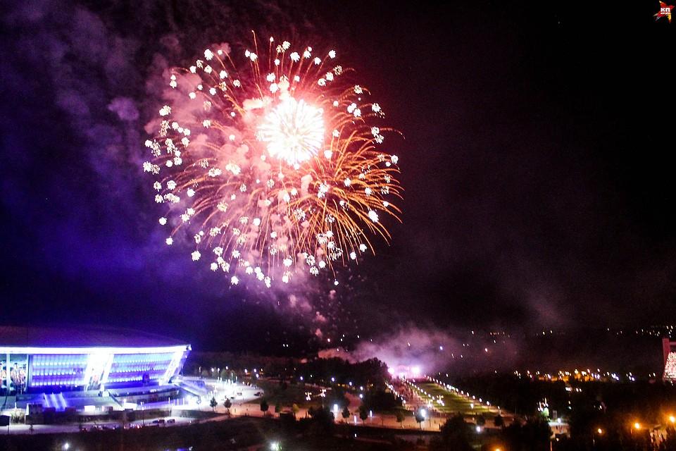 Концерт Валентины Лисицы в Донецке завершился масштабным фейерверком