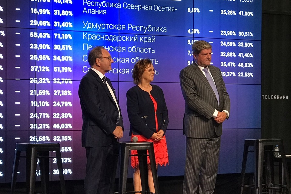 Европейским наблюдателям понравилась российская система электронных выборов.