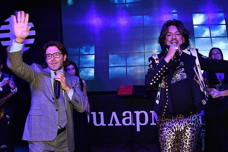 Андрей спел в дуэтом с Филиппом в этот вечер