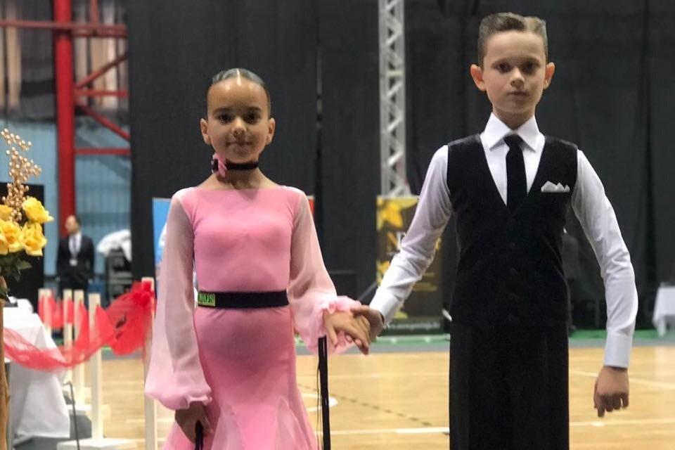 Ева и Никита свое будущее связывают с любимыми спортивными танцами.