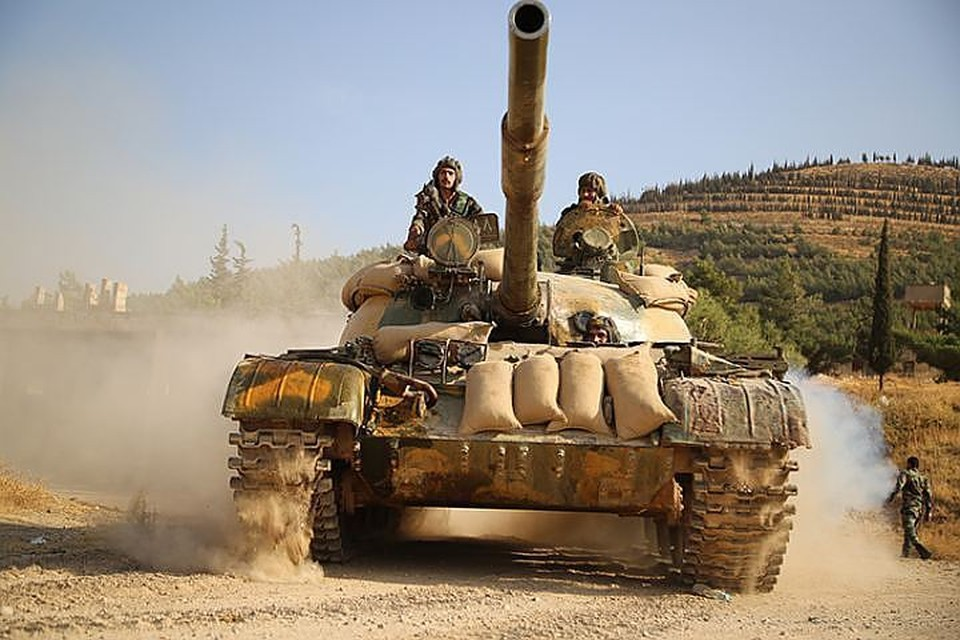 Сирийская армия ведет наступление на Аль-Маядин