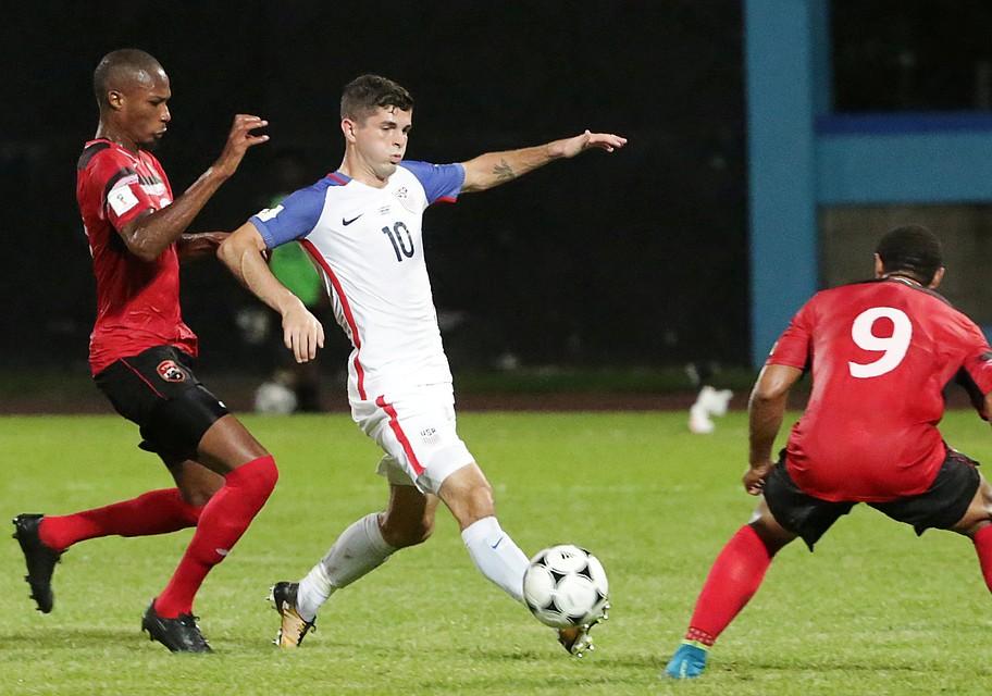 Команда США проиграла в гостях Тринидаду и Тобаго со счетом 1:2.