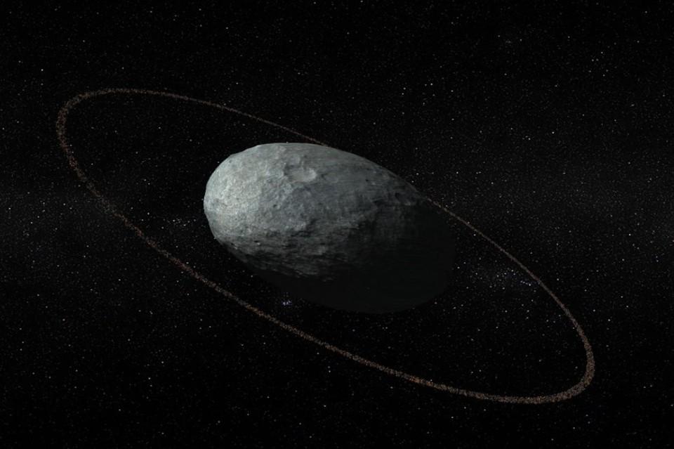 Хаумеа — карликовая планета, открытая в 2004 году американскими астрономами. Фото: iaa.es