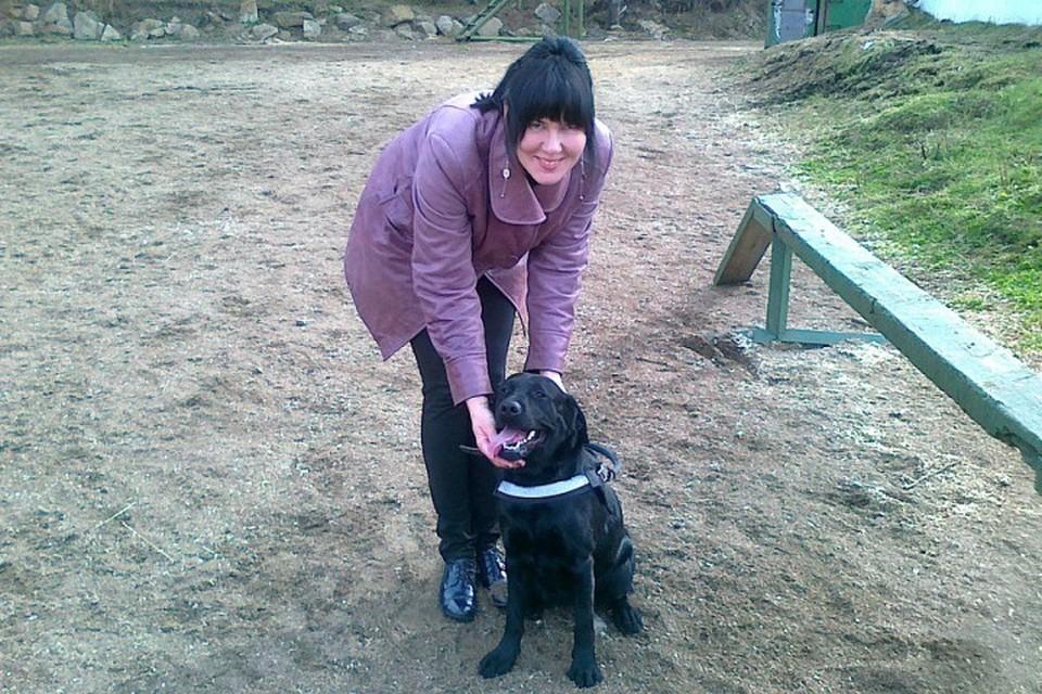 Догхантеры отравили собаку-поводыря слепой иркутянки