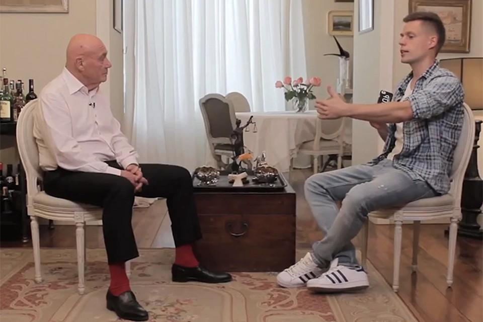 Журналист Владимир Познер стал героем программы «Вдудь» известного блогера Юрия Дудя
