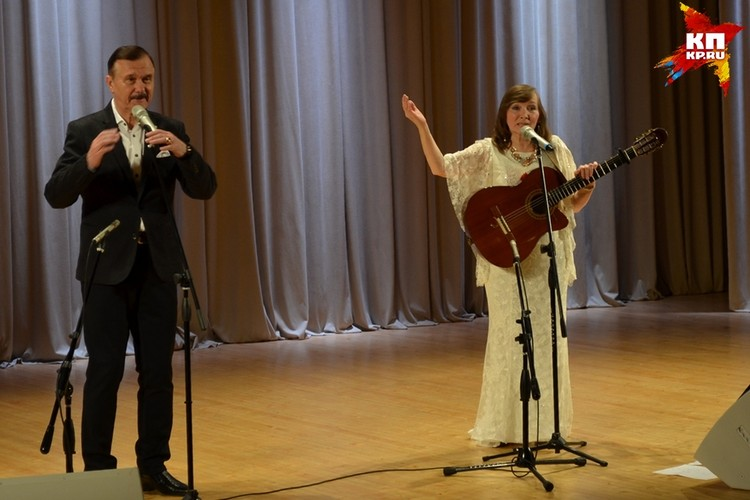 В Липецке прозвучал «Романс души» от Леонида Серебренникова и Анны Широченко