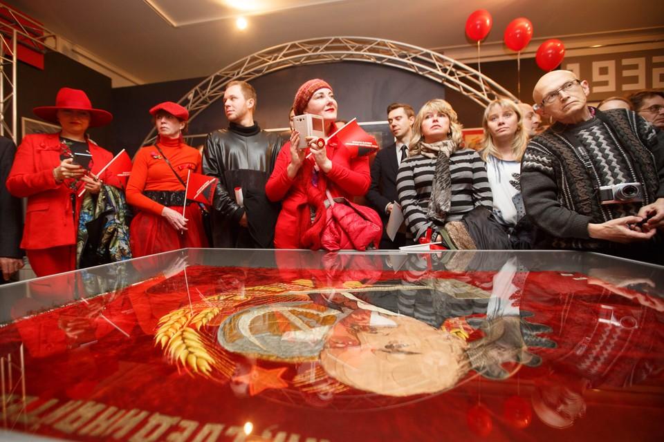Выставка открылась в Петропавловской крепости.