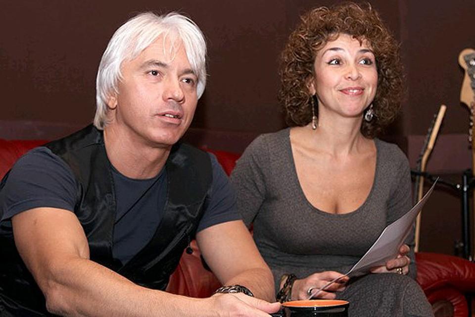 Лилия Виноградова и Дмитрий Хворостовский. ФОТО http://hvorostovsky.su