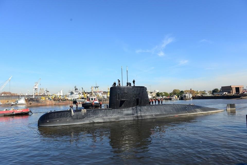 """Подводная лодка ВМС Аргентины """"Сан-Хуан"""""""