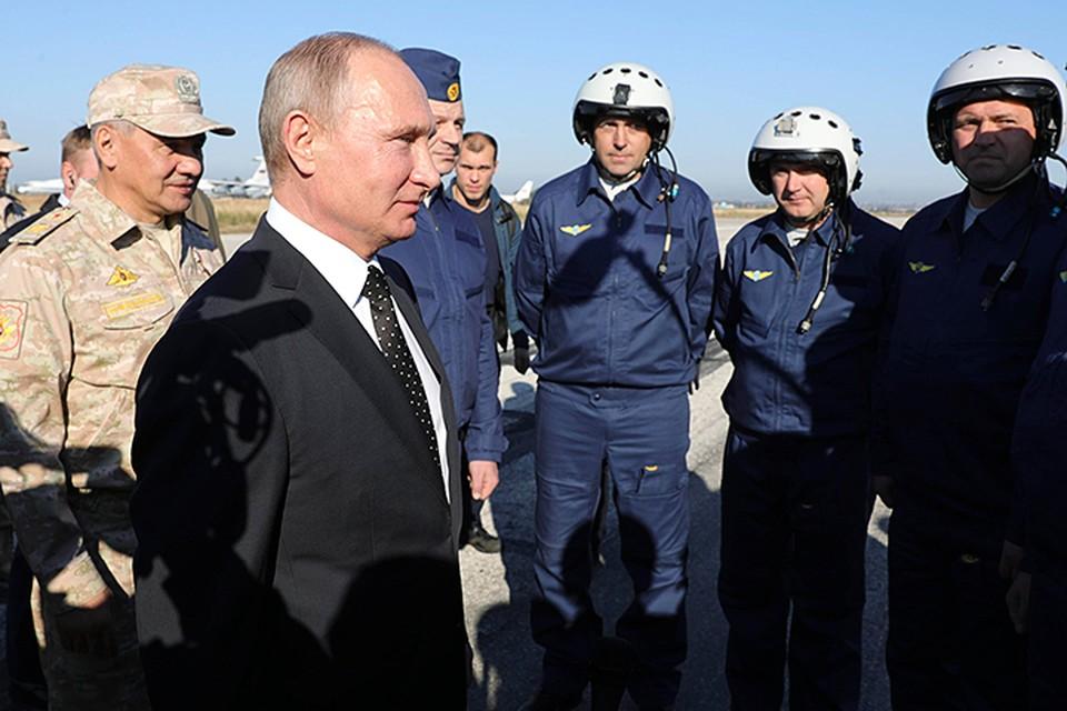Верховный Главнокомандующий приказал приступить к выводу российской группировки из Сирии