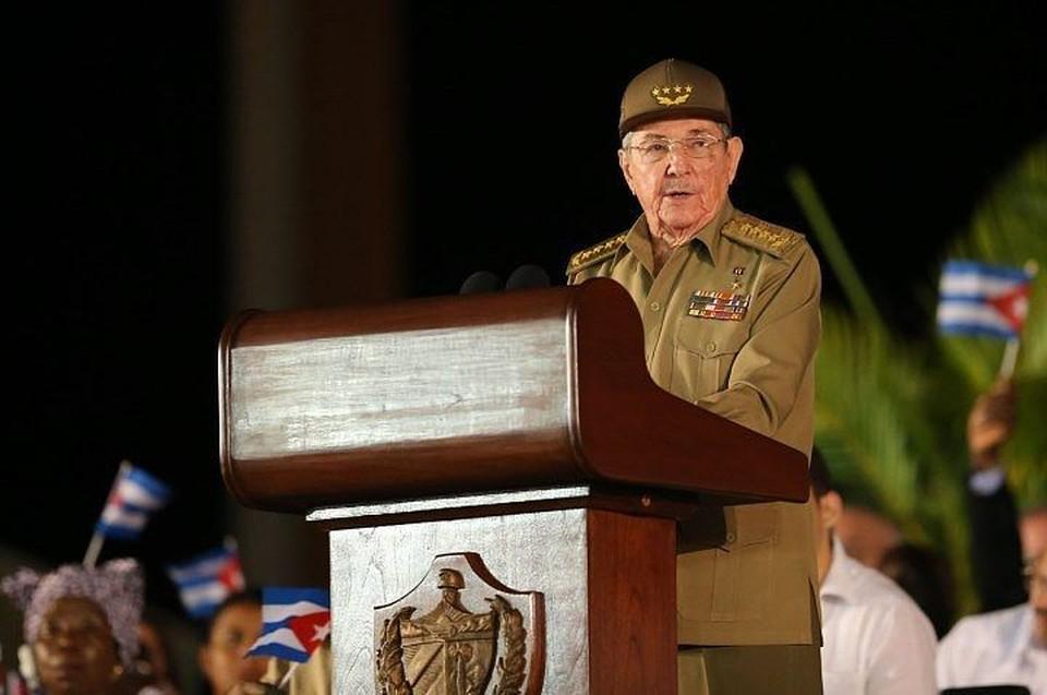 Председатель Государственного совета и Совета министров Кубы Рауль Кастро