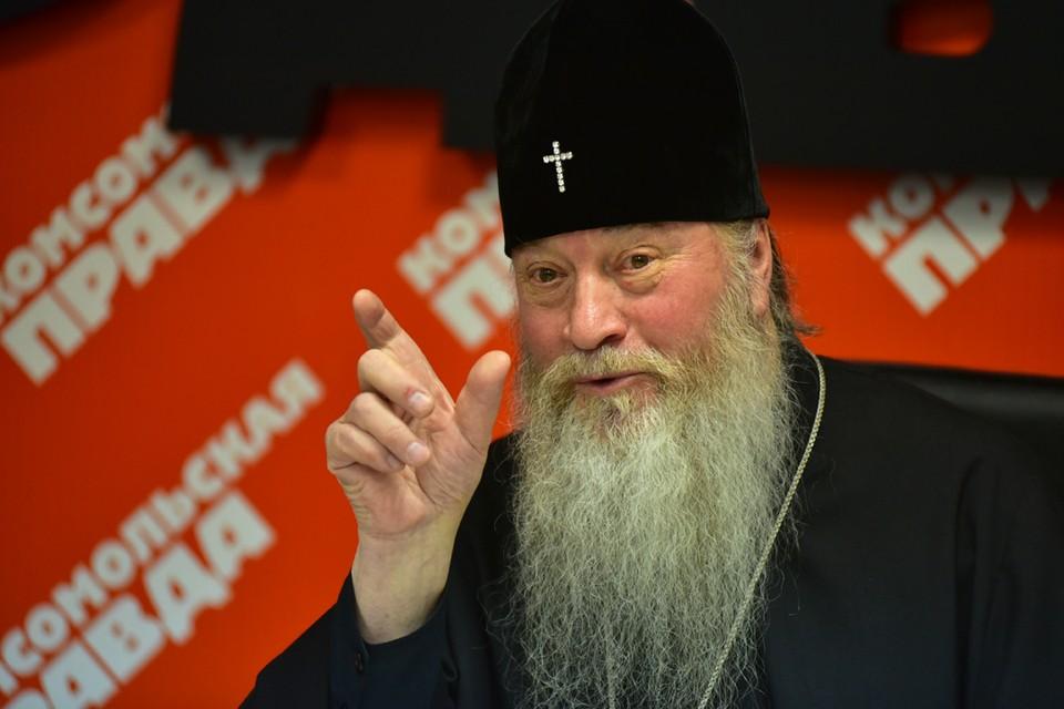 Владыка Тихон не уходил от острых вопросов журналистов новосибирской «Комсомолки».