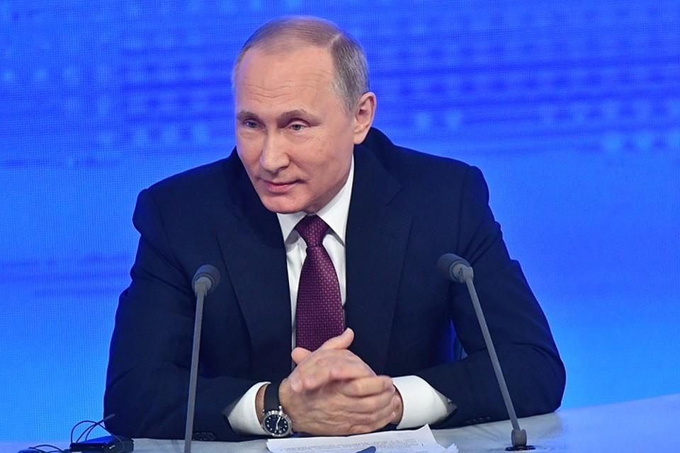 Владимир Путин признался, что свободного времени у него практически нет.
