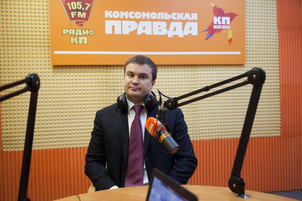 Министр энергетики, промышленности и связи Ставропольского края Виталий Хоценко