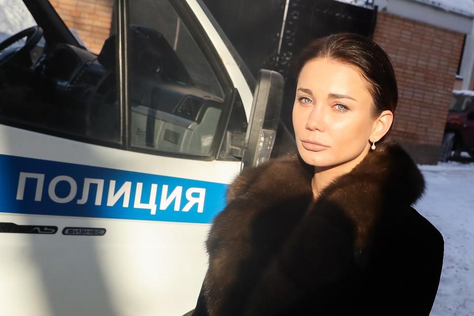 Екатерина Рейферт у здания суда Фото Станислав Красильников/ТАСС