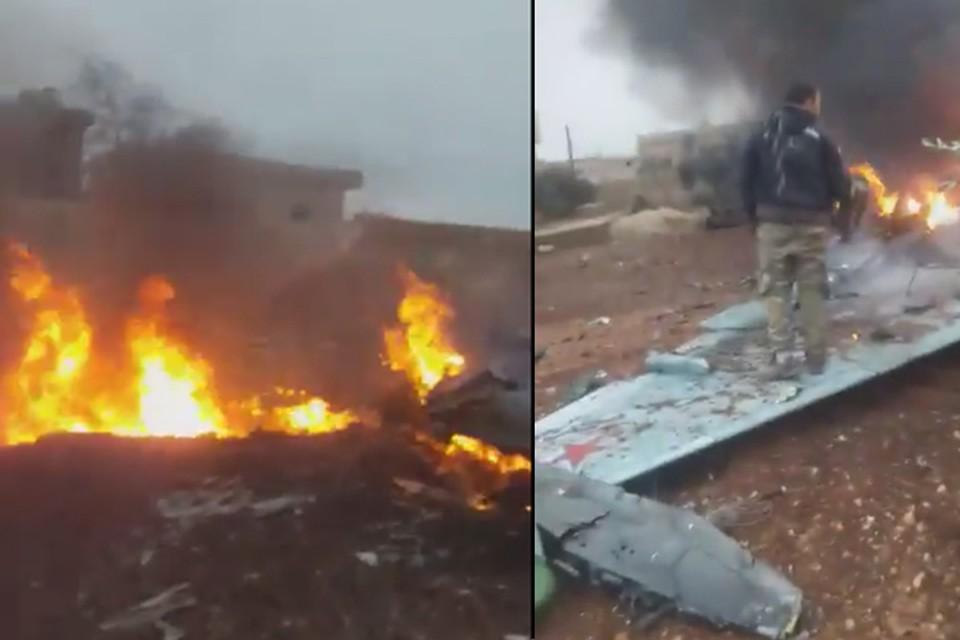 В Сирии сбит истребитель Су-25
