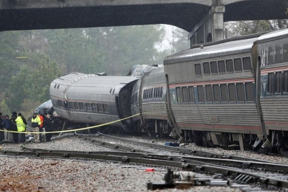 В момент аварии в поезде находились 139 пассажиров
