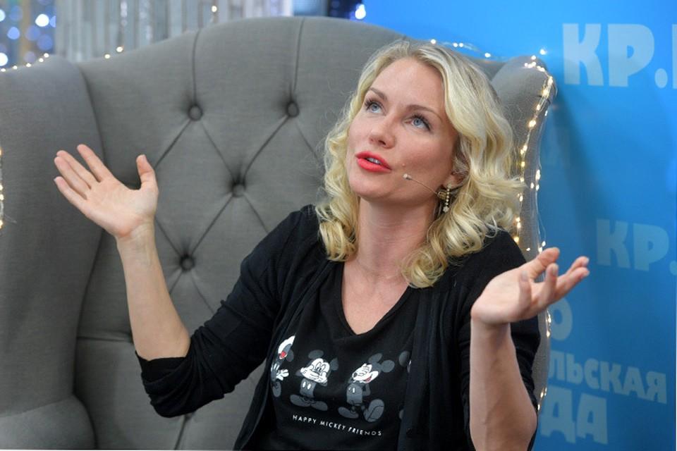Екатерина Гордон стала гостьей «Открытой студии» Радио «Комсомольская правда»