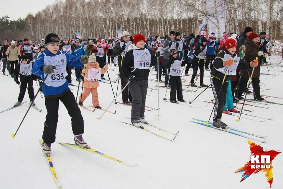 Алтайский лыжник член сборной россии