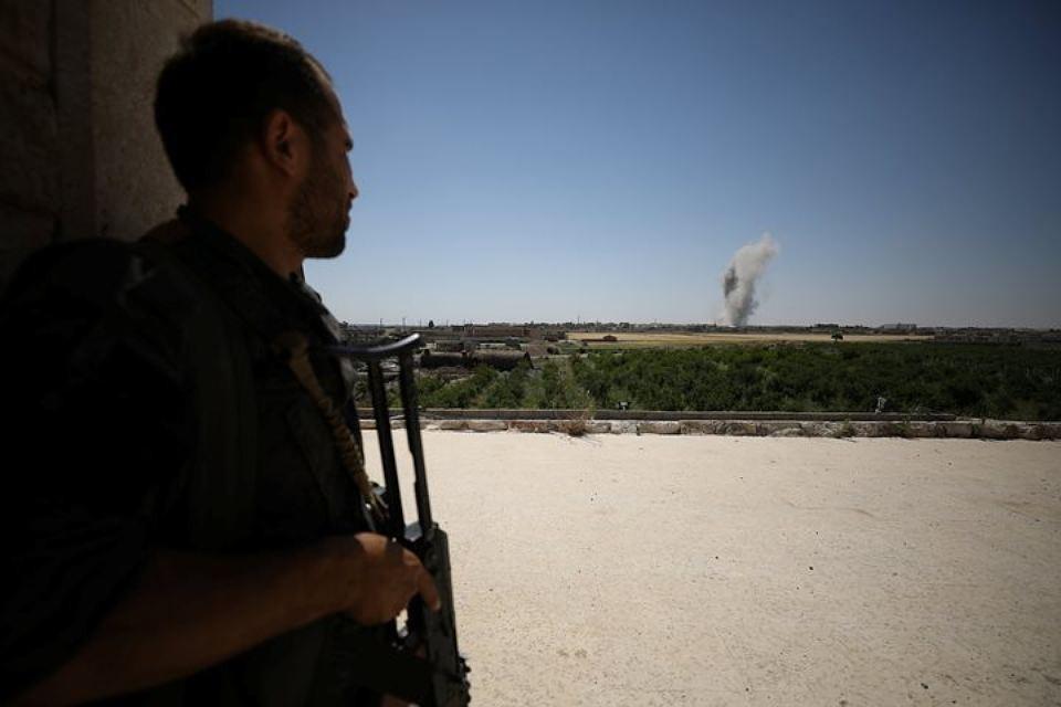 Ранее международная коалиция во главе с США нанесла удар по правительственным войскам в Сирии