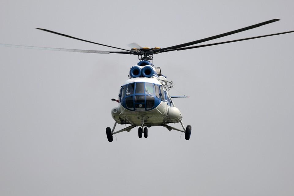 До пункта назначения вертолет не долетел.