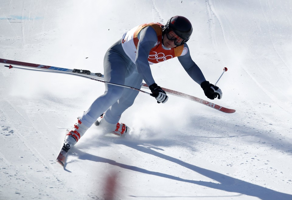 Павел Трихичев не смог завершить соревнования в горнолыжном спорте.