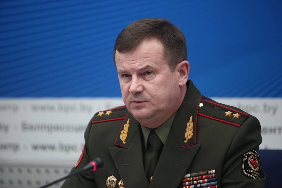 Министр Равков на пресс-конференции в Минске.