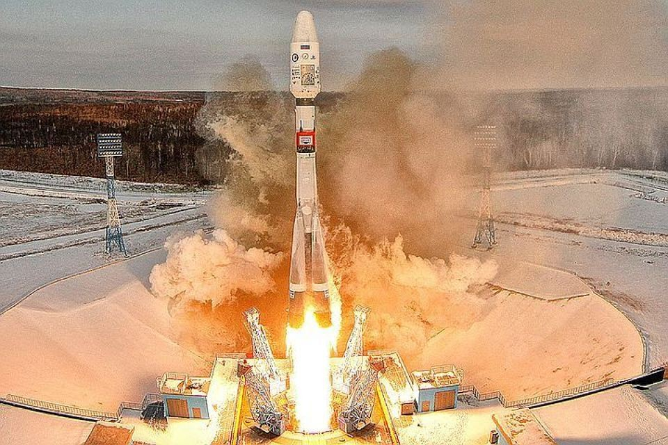 «Союз-2.1а» стартовала со второй попытки 13 февраля.