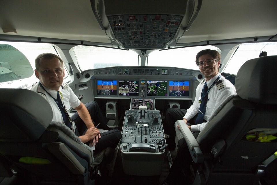 """Радостная новость была """"доставлена"""" на борт прямо из кабины пилотов"""