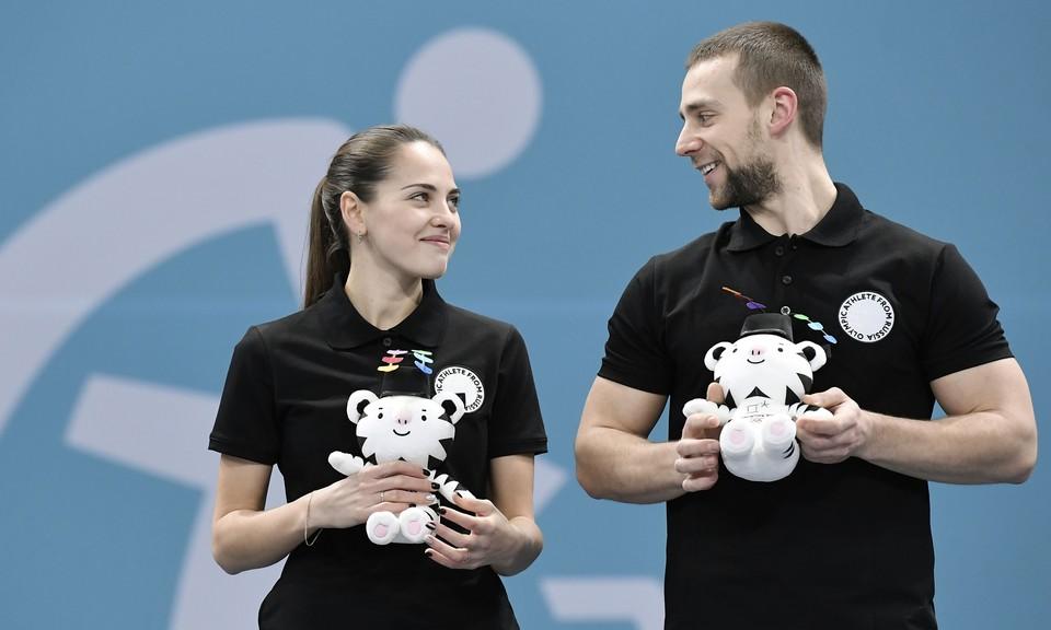 Александр Крушельницкий и Анастасия Брызгалова.