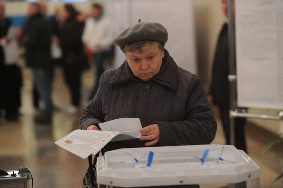 На избирательном участке занимались сексом