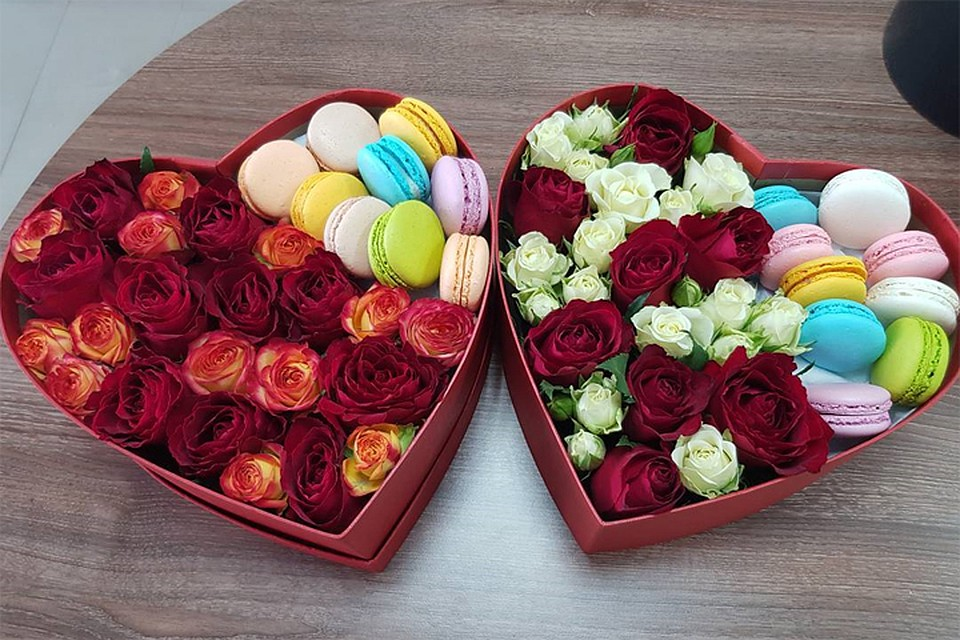 Цветов, оригинальные букеты 8 марта
