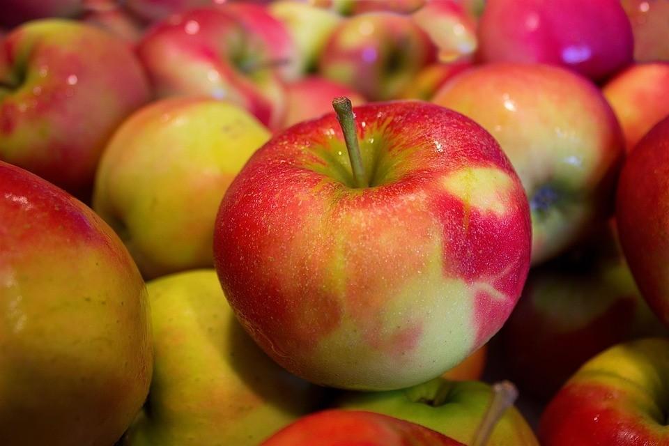 Российский предприниматель пытался вывезти из Беларуси 20 тонн яблок Фото: pixabay.com